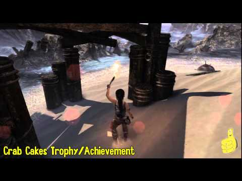 Tomb Raider: Crab Cakes Trophy/Achievement – Shipwreck Beach – FeeFee The Crab Location – HTG