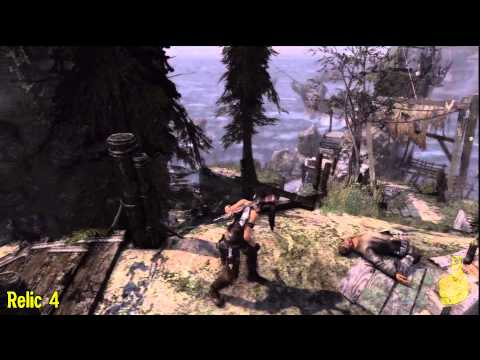 Tomb Raider: Gone Missing pt 1 – All Collectables (Documents, Relics, GPS Caches & Challenges) – HTG
