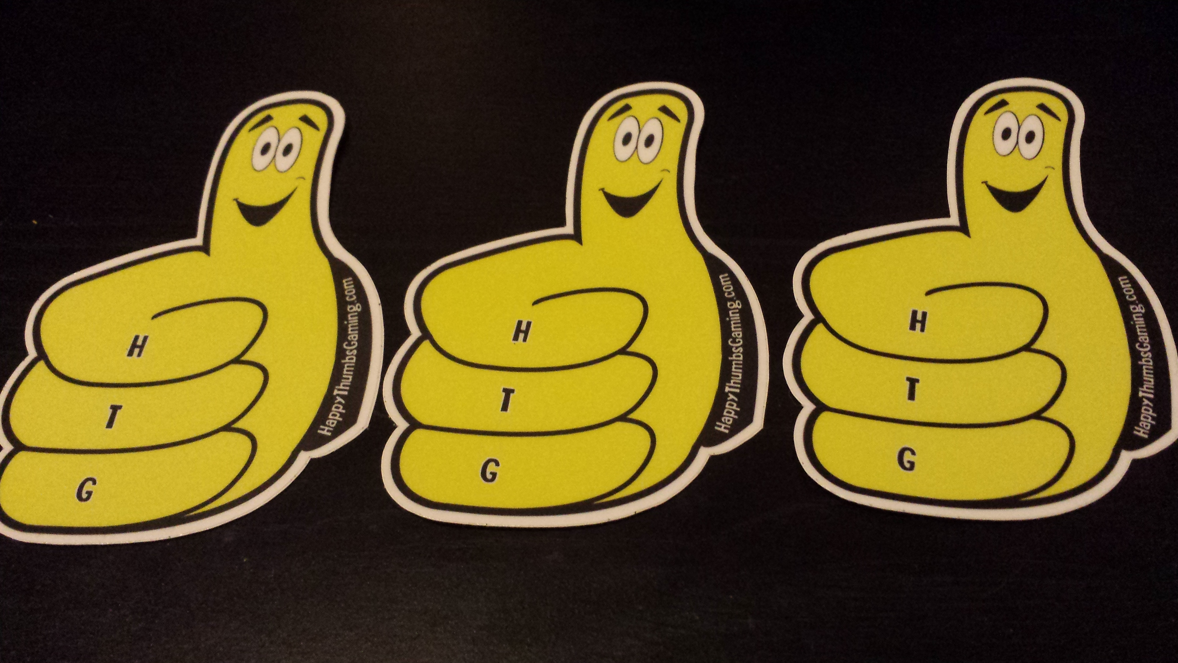 Thumby vinyl sticker 3 Pack