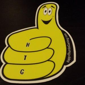 Thumby (single) vinyl sticker