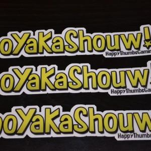 BooYaKaShouw 3 Pack Large