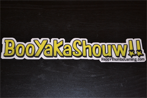 BooYaKaShouw Single Vinyl Sticker