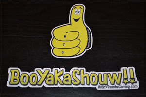 Combo-x1 (Thumby and BooYaKaShouw) vinyl stickers