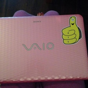 Thumby on a Laptop