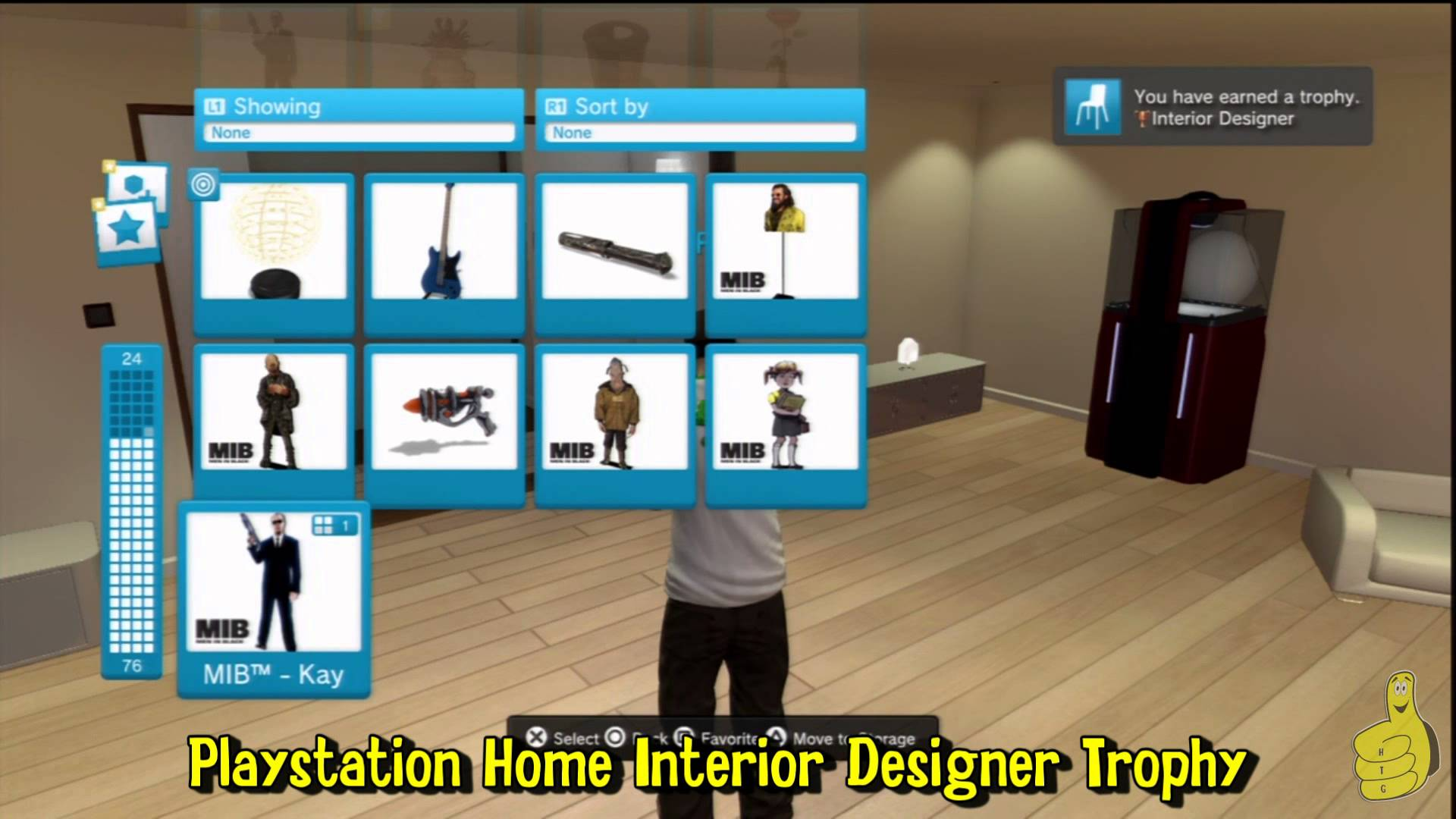 Playstation Home Trophy Guide – HTG