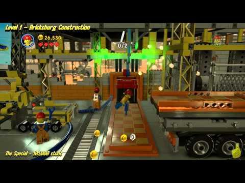 The Lego Movie Videogame: Level 1 Bricksburg Construction – STORY Walkthrough – HTG