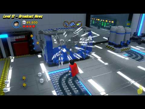 The Lego Movie Videogame: Level 12 Broadcast News – FREE PLAY – (Pants & Gold Manuals) – HTG
