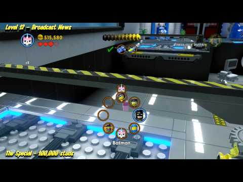 The Lego Movie Videogame: Level 12 Broadcast News – STORY Walkthrough – HTG