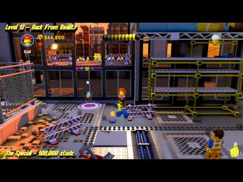 The Lego Movie Videogame: Level 13 Back From Reality – STORY Walkthrough – HTG
