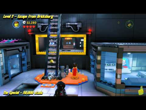 The Lego Movie Videogame: Level 2 Escape from Bricksburg – STORY Walkthrough – HTG
