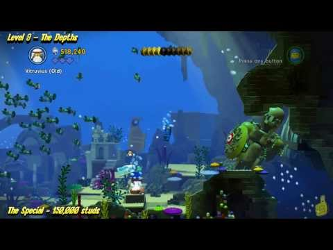 The Lego Movie Videogame: Level 9 The Depths – STORY Walkthrough – HTG