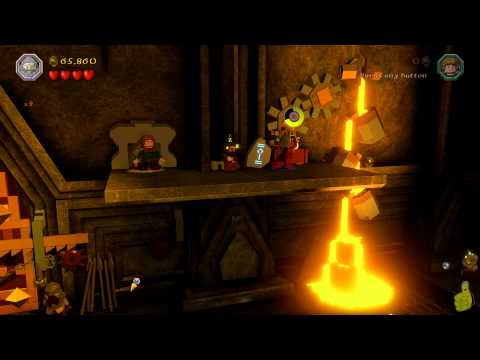 Lego The Hobbit: Level 1 – Greatest Kingdom in Middle-earth FREE PLAY – HTG