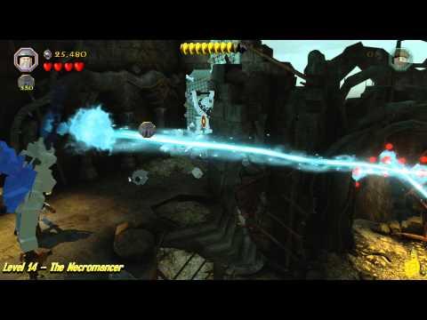 Lego The Hobbit: Level 14 – The Necromancer – STORY –  HTG – YouTube thumbnail