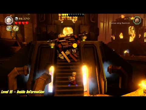 Lego The Hobbit: Level 16 – Inside Information – STORY – HTG
