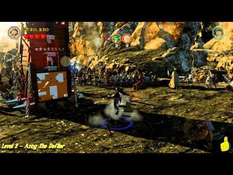 Lego The Hobbit: Level 3 – Azog The Defiler – STORY – HTG
