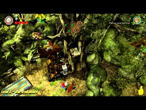 Lego The Hobbit: Level 5 – The Troll Hoard – STORY – HTG