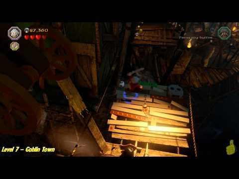 Lego The Hobbit: Level 7 – Goblin Town – STORY – HTG – YouTube thumbnail
