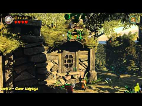 Lego The Hobbit: Level 9 – Queer Lodgings – STORY – HTG