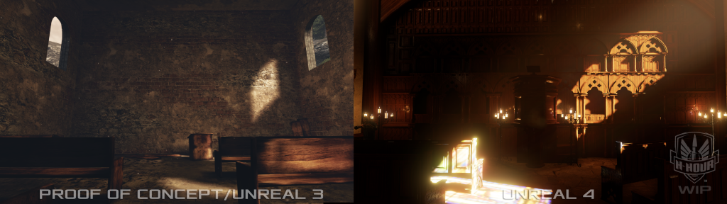 H-Hour back wall in Unreal 4
