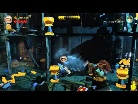 Lego The Hobbit: Level 16 Inside Information – FREE PLAY (All Minikits, Treasures & Design) – HTG