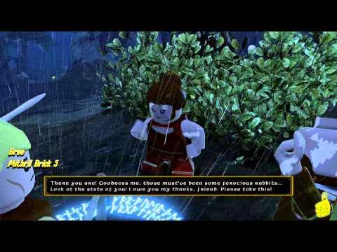 Lego The Hobbit: Middle-earth Free Roam – Bree – HTG – YouTube thumbnail