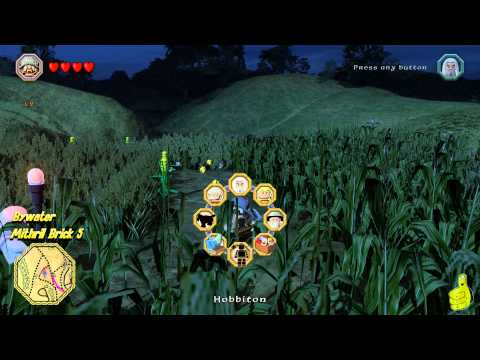 Lego The Hobbit: Middle-earth Free Roam – Bywater & Barrow Downs – HTG