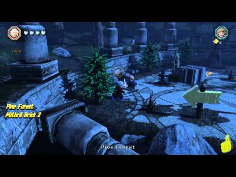 Lego The Hobbit: Middle-earth Free Roam – Pine Forest – HTG – YouTube thumbnail