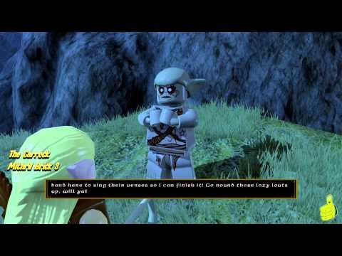 Lego The Hobbit: Middle-earth Free Roam – The Carrock & Beorn's Homestead – HTG – YouTube thumbnail
