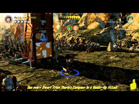 "Lego The Hobbit: ""Team Building"" Trophy/Achievement – HTG"