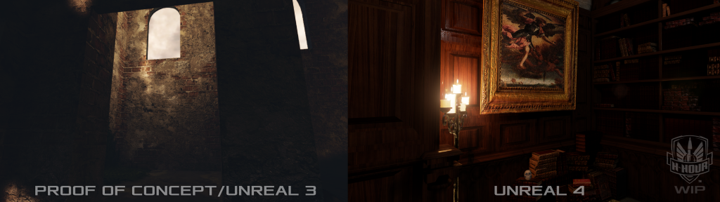 H-Hour little library in Unreal 4