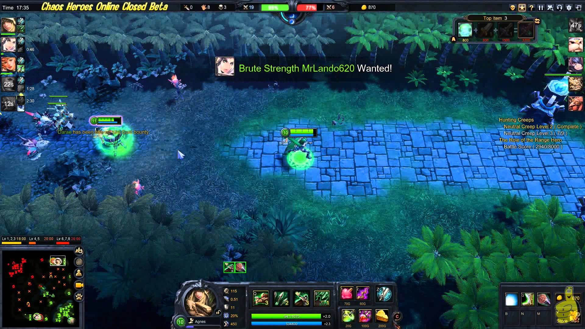 Chaos Heroes Online: Closed Beta Footage – HTG