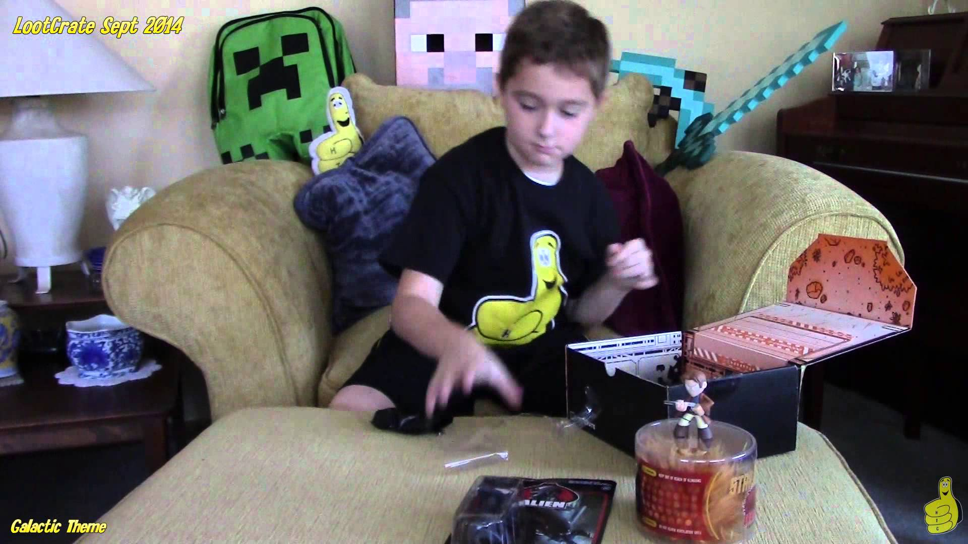 Loot Crate: September Unboxing with Rhyse – HTG