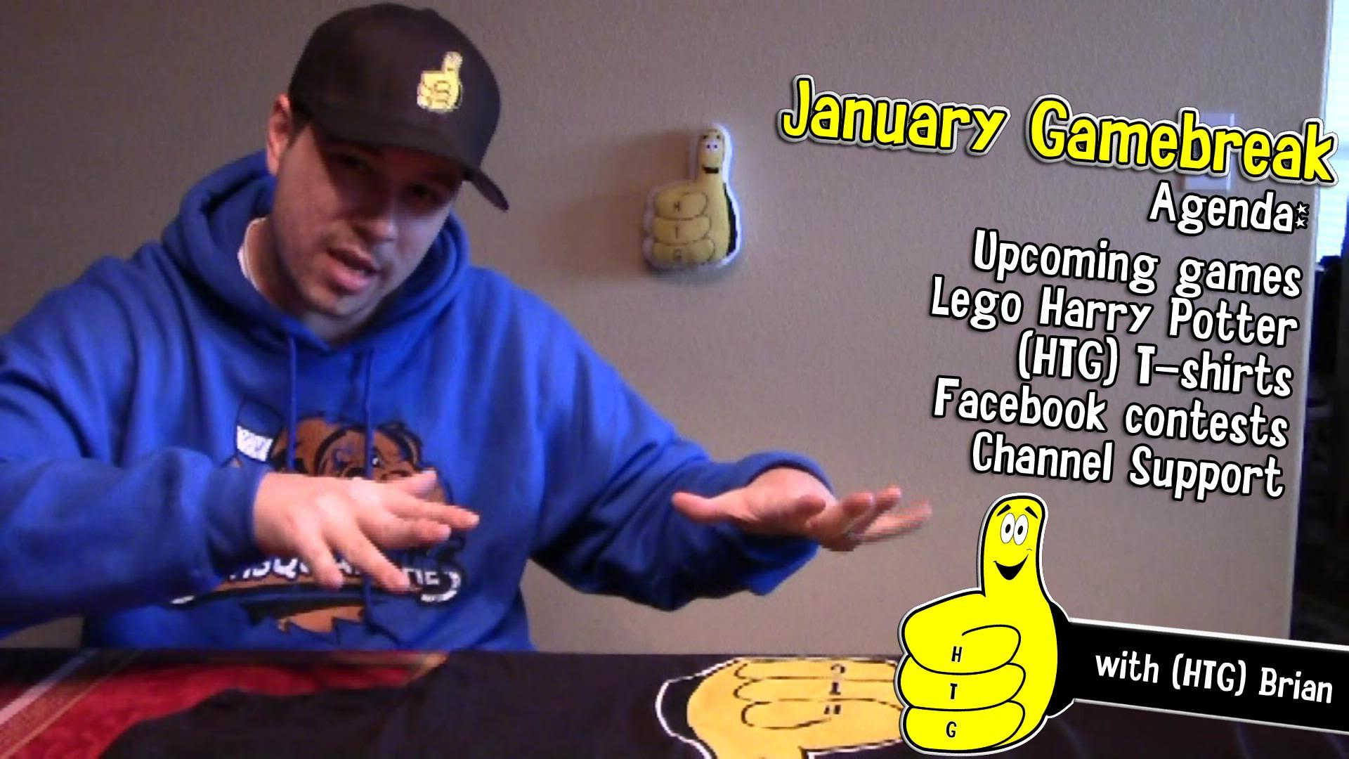 Gamebreak: January 2015 with Brian – HTG