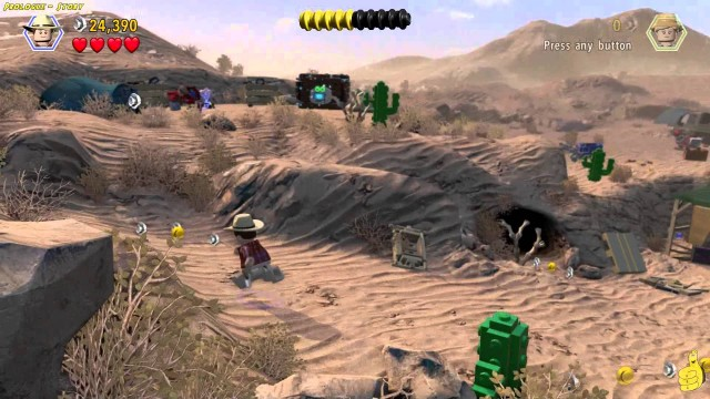 Lego Jurassic World: Level 1 STORY (Welcome To Jurassic Park Trophy/Achievement) – HTG
