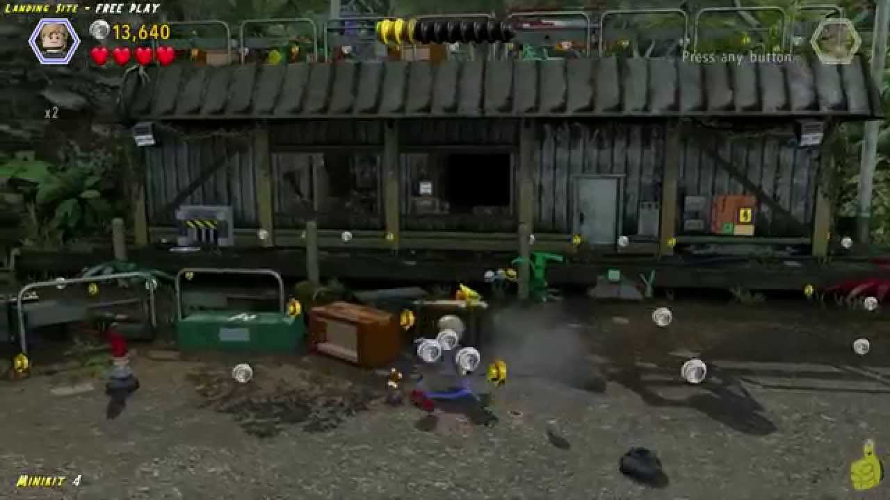 Lego Jurassic World: Level 11 Landing Site FREE PLAY (All Collectibles) – HTG