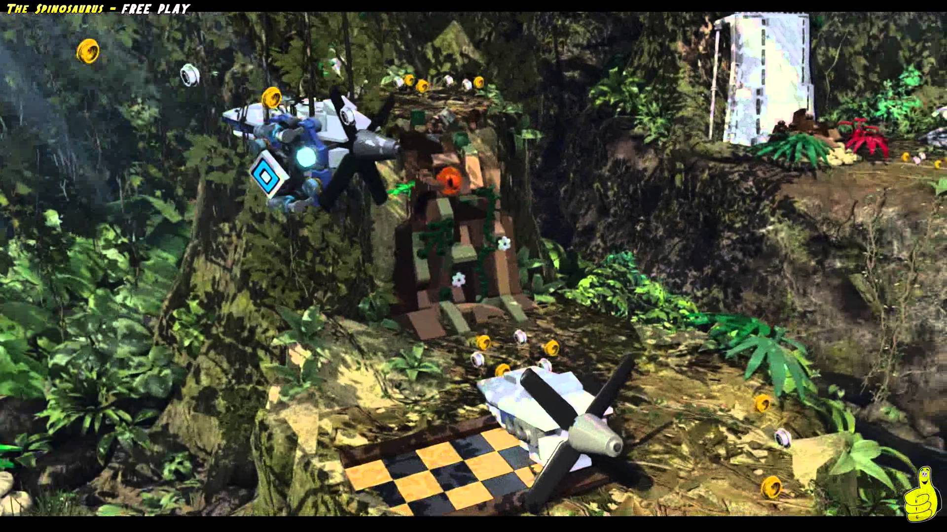 Lego Jurassic World: Level 12 The Spinosaurus FREE PLAY (All Collectibles) – HTG