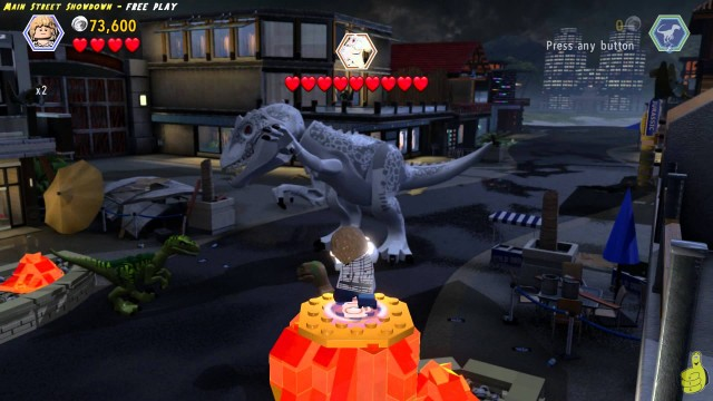 Lego Jurassic World: Level 20 Main Street Showdown FREE PLAY (All Collectibles) – HTG