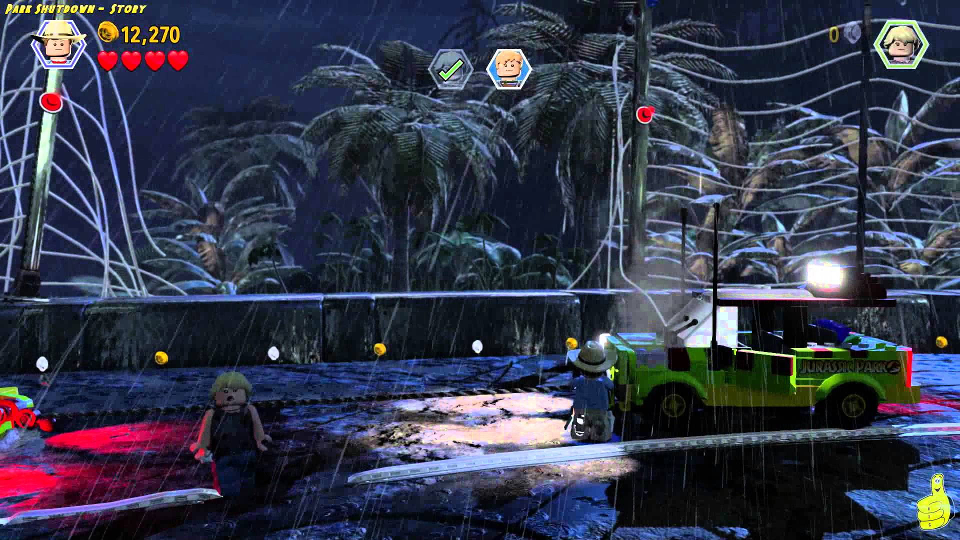 Lego Jurassic World: Level 3 STORY Objects in the Mirror Trophy/Achievement – HTG