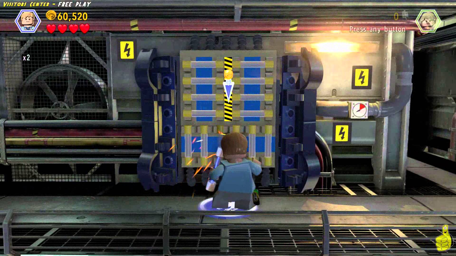 Lego Jurassic World: Level 5 Visitors Center FREE PLAY (All Collectibles) – HTG