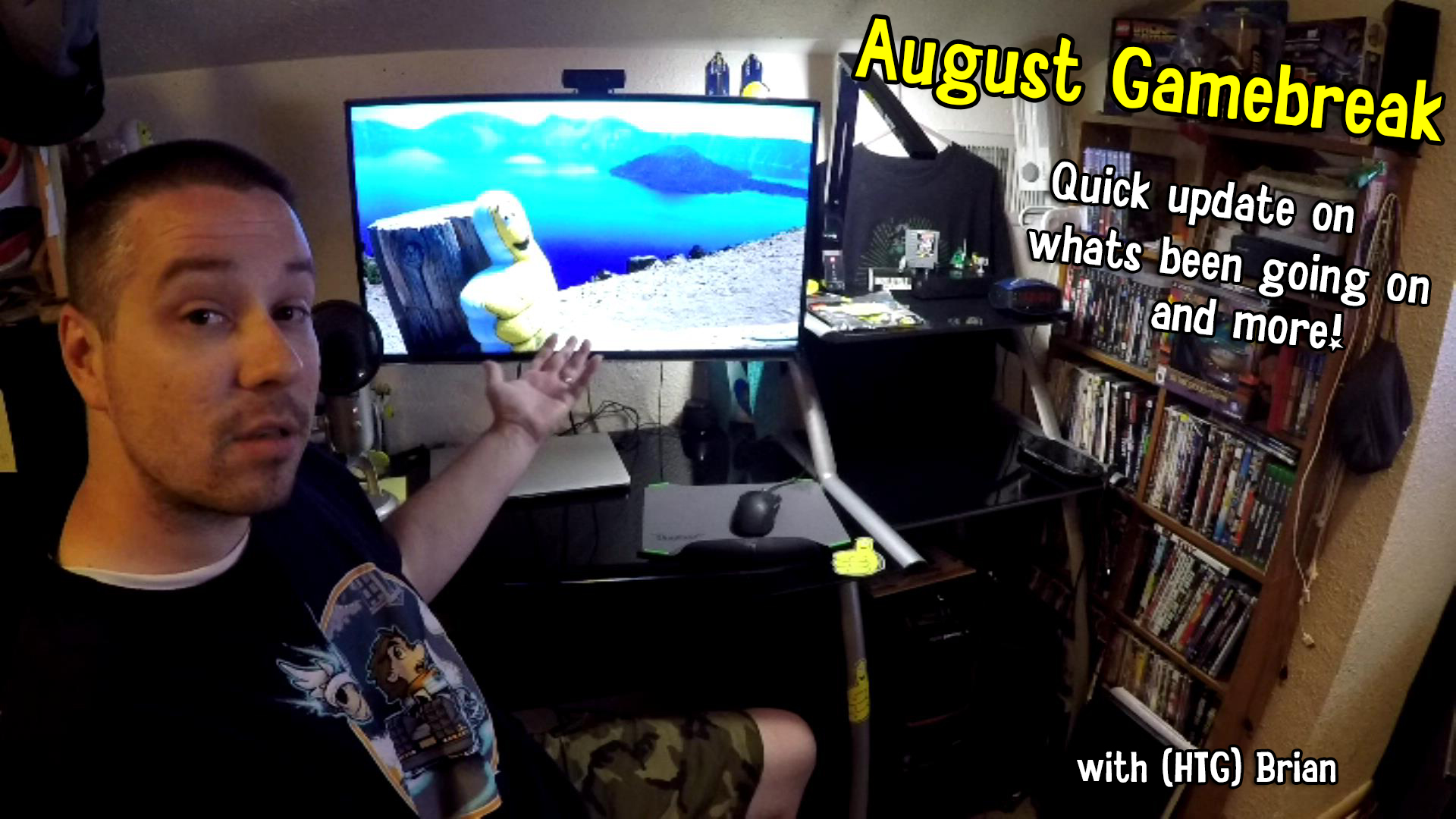 Gamebreak: August 2015 with Brian – HTG