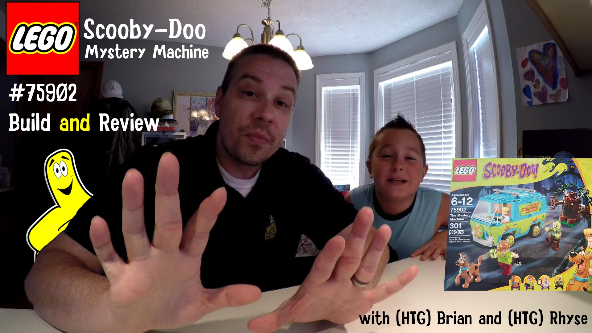 LEGO Speed Build: Scooby Mystery Machine #75902 with Brian and Rhyse – HTG