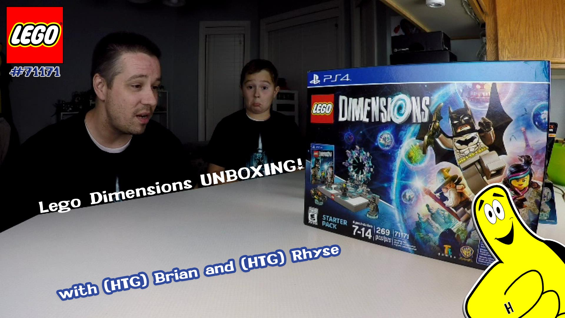 Lego Dimensions: Unboxing Dimensions and ALL Wave 1 Sets w/ Brian and Rhyse – HTG