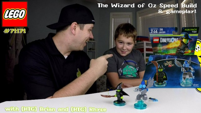 Lego Dimensions: Wizard of Oz Fun Pack #71221 Speed Build & Gameplay – HTG