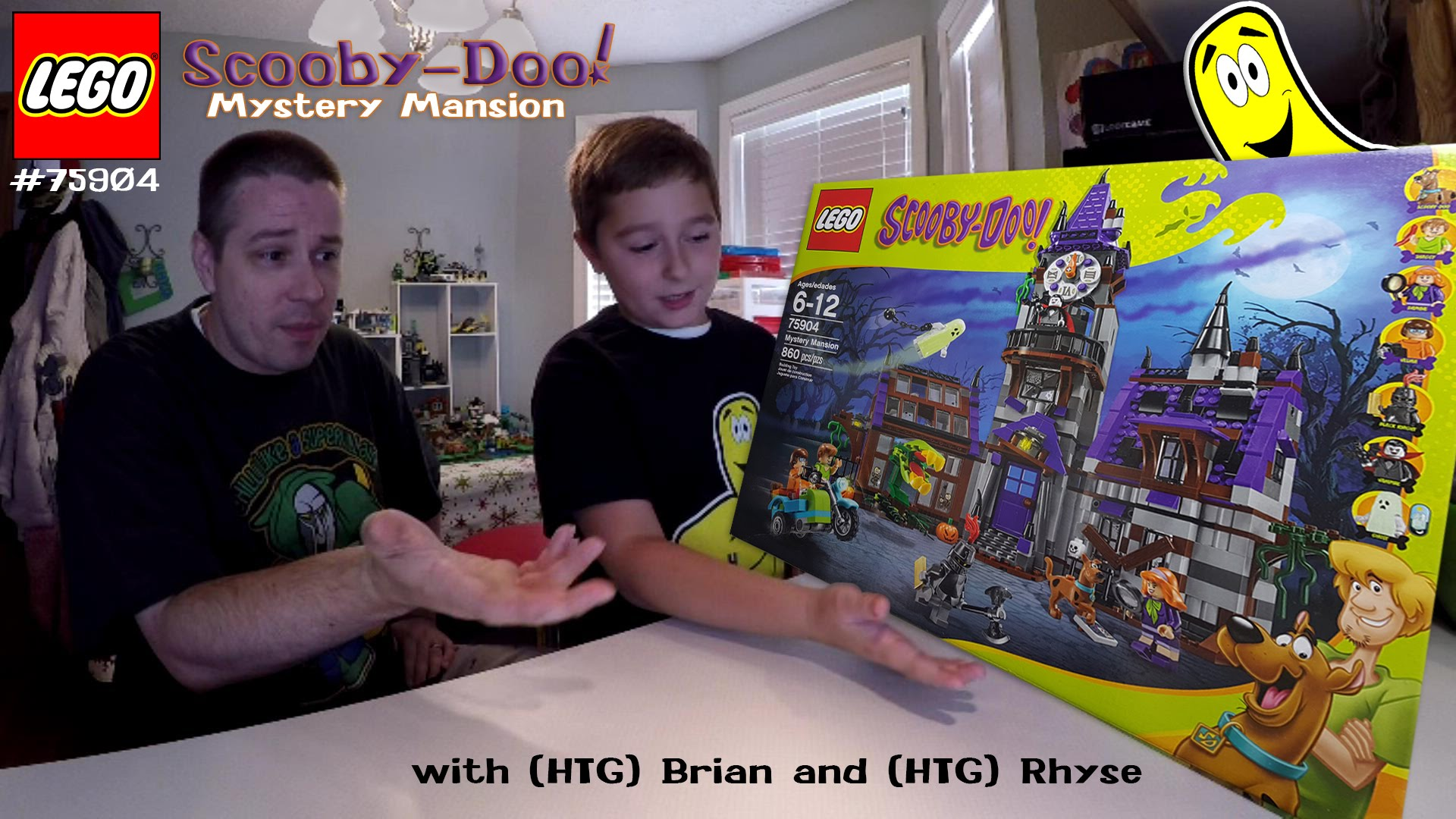 LEGO Speed Build: Scooby-Doo Mystery Mansion #75904 with Brian and Rhyse – HTG