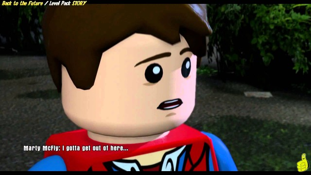 Lego Dimensions: Back to the Future Level Pack STORY/That was heavy Trophy/Achievement – HTG