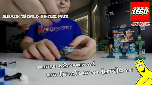 Lego Dimensions: Jurassic World Team Pack #71205 Speed Build & Gameplay – HTG