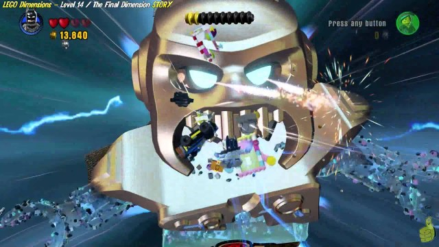 Lego Dimensions: Lvl 14 The Final Dimension STORY/A Serious Loophole Trophy/Achievement – HTG