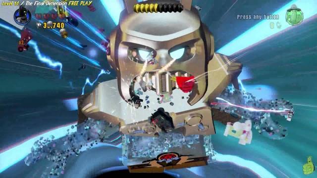 Lego Dimensions: Lvl 14 The Final Dimension FREE PLAY (All Starter Pack Minikits) – HTG