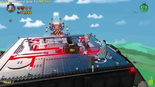 Lego Dimensions: Lvl 2 Meltdown at Sector 7-G FREE PLAY (All Starter Pack Minikits) – HTG