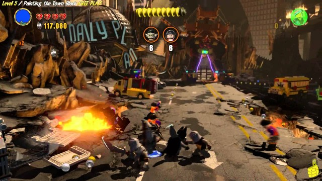 Lego Dimensions: Lvl 5 Painting the Town Black FREE PLAY (All Starter Pack Minikits) – HTG